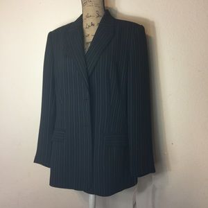 NWT Laura Scott Navy Blazer Suit/Jacket. Size 16